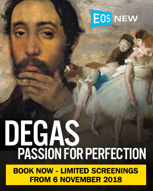 DEGAS EXHIBITION ON SCREEN