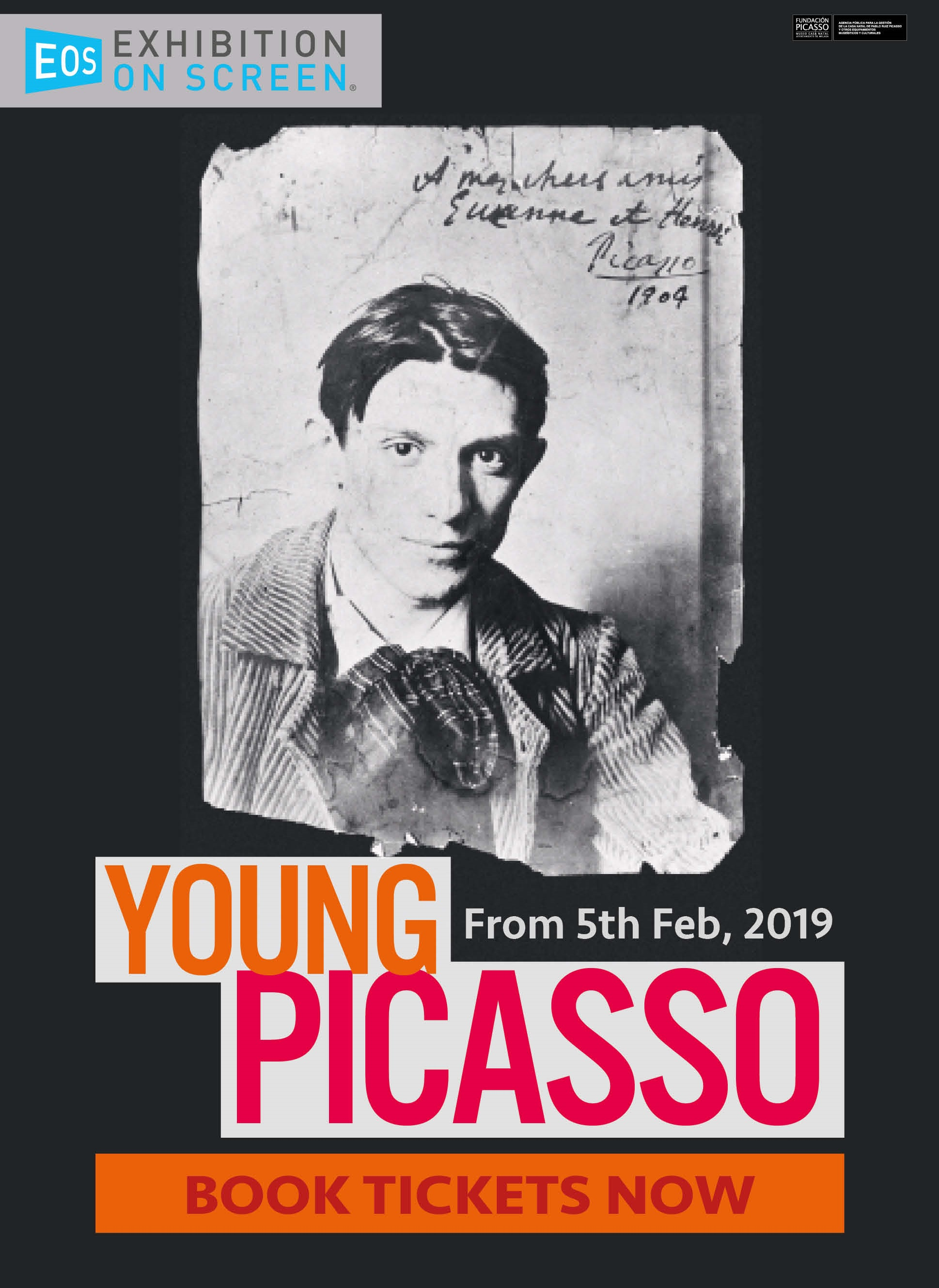 YOUNG PICASSO EXHIBITION ON SCREEN