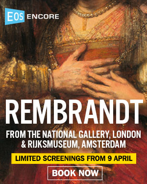 REMBRANDT EXHIBITION ON SCREEN